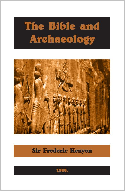 Kenyon-Bible and Archaeology
